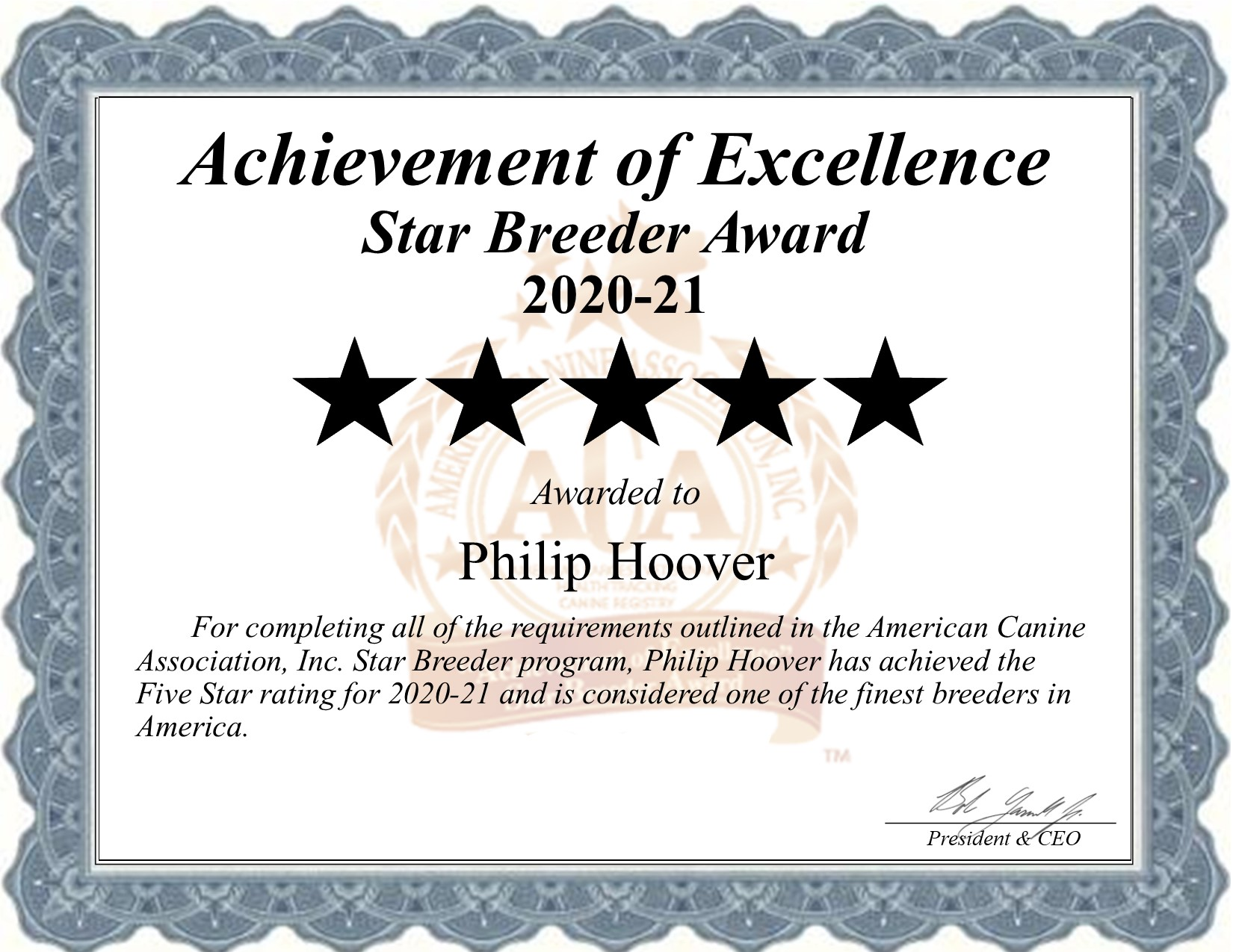 philip, hoover, dog, breeder, philip-hoover, dog-breeder, kennel, kennels, star, certificate, dog, Memphis, mo, missouri, usda, no,  43-A-5673, 43a5673, breeding, pup, puppy, mill, puppymill, dogs, in